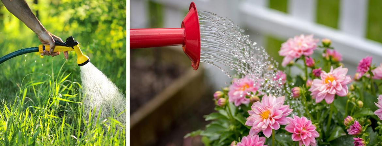Gieters, tuinslangen en bewatering van Tuincentrum Kennes